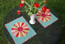 place mats,table toppers and mug rugs
