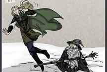 Lort of the rings og hobbitten
