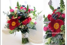 Colorful bridal bouquets     זרי כלה צבעוניים  / Colorful bridal bouquets זרי כלה צבעוניים
