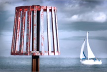 Harbour Days / Coast, beach, harbours, seaside, boats, stones, tides, sand and wood distressed by the sea.