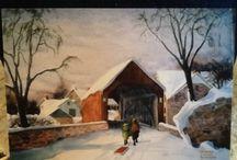 Jeanne Doane Burford paintings / by Karen