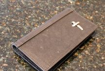 Christian Gifts for Men - Wallets, Money Clips & Key Rings / Amazing Gifts for the Christian Man.  Leather Wallets and Bi-Folds, Leather and Pewter Money Clips and Key Rings.  Perfect for those men in your life!   #christiangifts