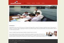 Portafolio web / Vista algunos sitios desarrollados por Myrdesign