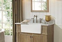 Farmhouse Style Bath Vanities