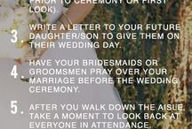 Lindsay's Wedding / Ideas for the big day