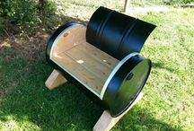 Kats Place country cool / Repurpose old to cool items,