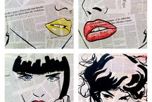 collage tekenen