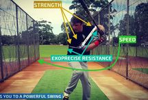 Baseball Swing Trainer / Laser Power Baseball Swing Trainer. Our globally patented baseball swing trainer instantly increases bat speed, and strength for power hitting; guiding you to the perfect baseball, or softball swing.