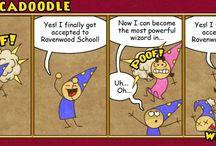 Abracadoodle / Our Abracadoodle comic strip!