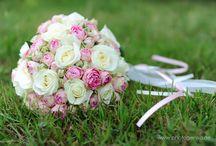 Brautstrauss für die Hochzeit / Brautstrauss Hochzeit Blumen