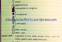 Bullet Journaling