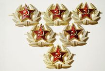Badges and medals of the Soviet Union Red Army Russia / Badges and medals of the Soviet Union