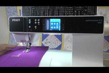 PFAFF / PFAFF!  Everything from the IDT to advanced 6D Embroidery Software.  We love PFAFF