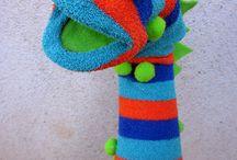socks puppets