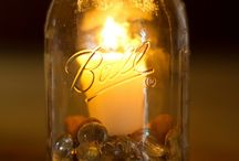 mason jar ideas / by Nacole Hines