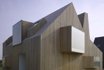 Architecture: Timber Buildings ... All sorts / by Laara Copley-Smith Garden Design