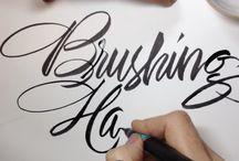 Brush Lettering / Calligraphy
