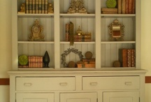 repurposing a china hutch / by Cindy Yockey