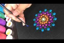Painting Mandalas Videos