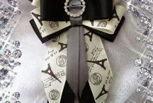 галстуки из репсовых лент