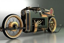 Steampunk Cars / Motorcycles