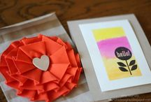 Who Needs Hallmark? / When you REALLY care enough to send the very best - go for a gorgeous, one-of-a-kind #DIY card made with Whisker Graphics Bitty Bags, Sweet Stickys and Divine Twine!  #handmade #crafting #maker