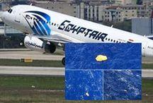 """""""Βρέθηκαν τα συντρίμμια"""" ανακοίνωσε η EgyptAir.."""