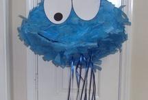 Cookie Monster/Sesame Street Party Ideas / Nick's 1st Birthday Ideas / by Daniela Brouillard