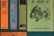 faux vintage books