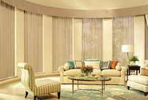 Vertical Blinds /  Our vertical blind collection offers a contemporary or traditional style that is perfect for large windows and sliding glass doors. Achieve excellent light control with a decorative selection of light filtering and room darkening louvers and fabric. Our vertical blinds are made with the best PVC and fabric materials. Resistant to moisture and corrosion, vertical blinds are easy to maintain, stay clean and are long-lasting.