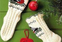 Ciorapi tricotati...