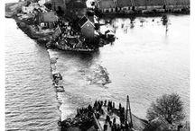 Désastres ,overstromingen in Nederland .