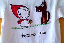 Magliette dipinte
