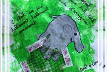 Bricolages sur les animaux par les p'tits loulous de Gaëla / Bricolages et activités des enfants/assistante maternelle