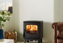 Dovre Stoves / Dovre make a range of good quality, cast iron contemporary stoves. One of the things which distinguish these Dovre contemporary stoves is that they can come as multifuel versions - most contemporary stoves these days are woodburning only.