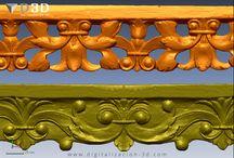 Digitalizado 3d de ornamentaciones / Digitalizado 3d de ornamentaciones para reproducción