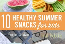 Snack Ideas for Kids / Recipes for simple snacks that kids from toddler through to teens will enjoy.