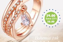 18K Gold Plated Bohemia Ring For Ladies With Water Drop Pendant CBR-01 / 18K Gold Plated Bohemia Ring For Ladies With Water Drop Pendant CBR-01 http://bit.ly/1lQQxcS Call / Whatsapp : 0528652260