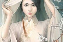Geisha Vintage Art