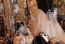 Jewelry Display Ideas / by Crystal Tangerine