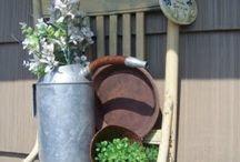 Leuke tuin decoratie/ ideeen.