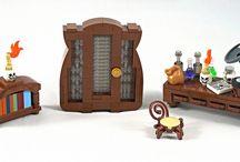 Lego Dungeon Interior