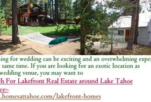 Search For Lakefront Real Estate around Lake Tahoe