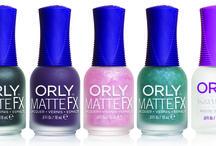 ORLY Matte FX Collection / ORLY dedica una Collezione alle unghie che, per brillare fra tutte, scelgono di essere … opache!  ORLY MATTE FX... ORLY Matte it up!