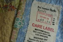Quilt & Sewing Labels!