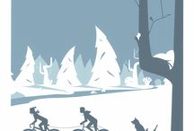 Il·lustracions ciclistes