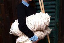 Huge knitting