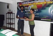 Amadeus Lanka actively took part in the Travel Trade Sports Club / Amadeus Lanka actively took part in the Travel Trade Sports Club inaugural pool tournament which was held on 31 May 2014. Classic travels immerged as the winner and Amadeus staff member Ackeil managed to pick up a bowl cup.