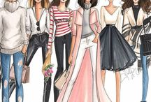 Fashion illustrations ^_^
