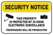 CCTV Camera security signs from National Safety Signs